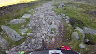 Seathwaite, Cumbria bridleway descent (27/09/2015