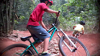 Fun at Jimi's Pump Track