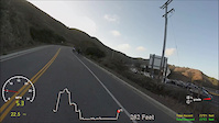 'Hawk Hill Hill Burn' Strava segment, bike...
