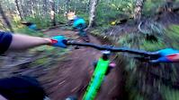 Team Arbutus Ladies Whistler Trail Riding