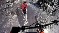 Winter Mountain Biking in Vitosha short (RAW...