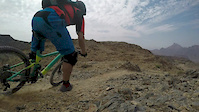 Awesome new singletrack in the mountains of Oman!
