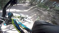 Dropkick trail,Canyons resort
