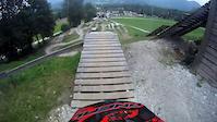 Bikepark Lenggries GoPro 2011 with Crash