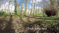 'New trick jump.'