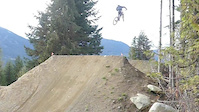 Whistler CRABAPPLE Hits - close call a TRAIL bike