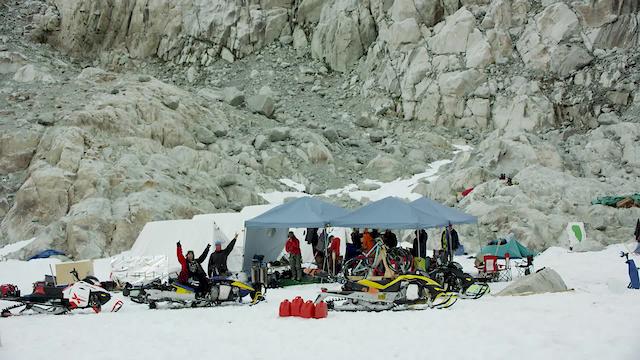 Mountain Biking on a Glacier: #theunRealmovie