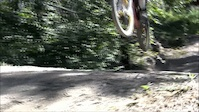 biking down 'Bender'