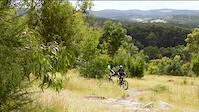 State Mountain Bike Course Descent