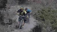 Fabien Barel and Florian Nicolai ride their...