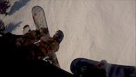 Snowboarding POV